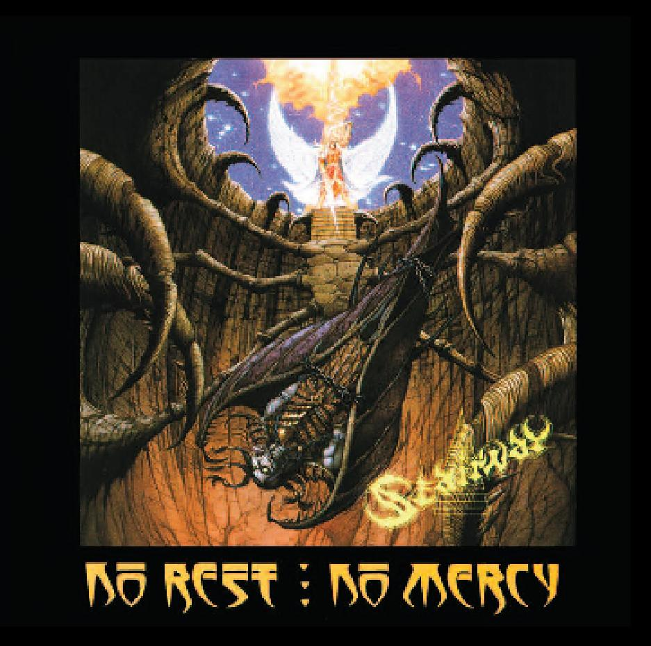 'No Rest:No Mercy'  1993/2005 - Click here to BUY CD